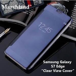 new styles 96e3c 9c7d2 Marshland Flip Cover for Samsung Galaxy S7EdgeBlue, Waterproof