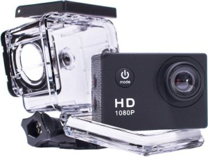 Doodads Action pro D-1080p Full HD Sports Cam Waterproof 30 M (2 Inch Screen) DSLR Camera Super Wide Angle Lens 140 Degree