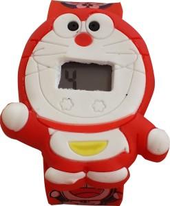 SS Traders Doraemon Strap Digital Watch  - For Boys