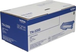 Brother TN 3350 Black Toner cartridge use Brother MFC-8910DW,MFC-8510DN, HL-5440D,HL-5450DN Single Color Toner