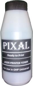 PIXEL CARTRIDGE REFILLING TONER POWDER FOR HP 12A/13A/15A/35A/36A/78A/88A/49A/53A/16A/29X/96A/11A/42A/ CANON FX09/FX3/FX303 Single Color Universal Toner (Black) Single Color Toner