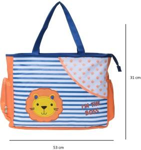 Wishkey Multi-Utility Amazing Abstract Fabric Diaper Bag Nursery Bag