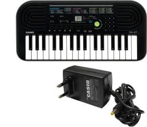 Casio Musical Keyboards SA-47 (with Adaptor) Digital Portable Keyboard