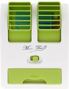 samshi Green Portable Mini Cooler USB Fan Green Portable Mini Cooler USB Fan USB Fan