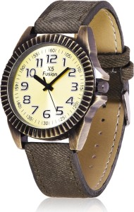 X5 Fusion YELLOW_1-12 Analog Watch  - For Men