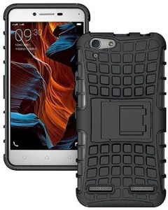 wholesale dealer 5a294 53320 Sciforce Back Cover for Vivo Y55s, Vivo Y55lBlack, Grip Case