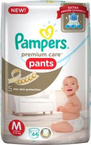 Pampers Premium Care Pant Diapers - M