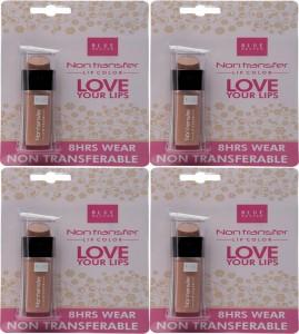 Blue Heaven Blue Heaven Non Transfer Lip Color - Nude Lips (4 x 2.8 ml)