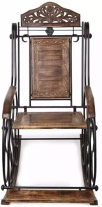 Onlineshoppee Solid Wood 1 Seater Rocking Chairs