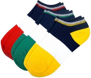 Color Fevrr Men & Women Solid Ankle Length Socks