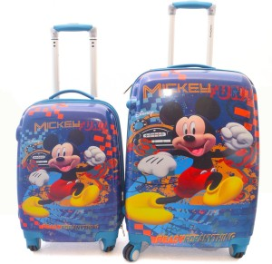 Texas USA Kids MICKY MOUSE Combo Cabin Luggage - 22 inch