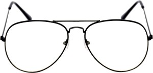 9f950f255f Aligatorr White glass Used in Night Driving Aviator Sunglasses Clear ...