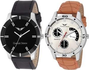 Gargee Design New Elegant Combo of Men Lavish Pre-GST Stock Clearance Analog Watch  - For Men