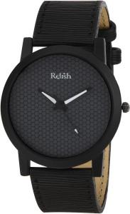 Relish RE-S8058BB Black SLIM Analog Watch  - For Men