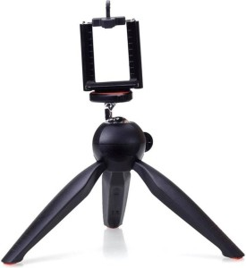 Sukot YT-228 7 inch Mini Mobile Tripod With 360 degree Rotating Ball Head With Mobile Clip For Smartphones, GoPro & Digital Cameras Tripod Kit