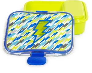 Skip Hop Forget Me Not Lunch Kit- Lightning 2 Containers Lunch Box
