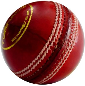 Tima League Special Leather Cricket Ball - Full Size (Pack of 3, Red) Cricket Ball -   Size: 5