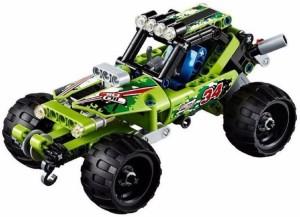 Montez 148 PCS 3414 Desert Racer King Steerer Block Set with Pull Back Technic (Green)