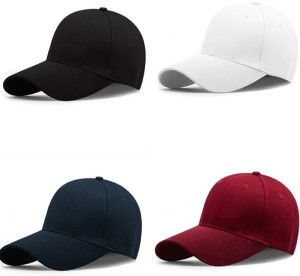 0cb1f1f56029 BnB Solid Baseball Trucker Cap Pack of 4 Best Price in India