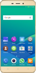 Gionee P7 Max (Gold, 32 GB)