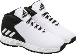 adidas hoopsta basketball shoes (blue