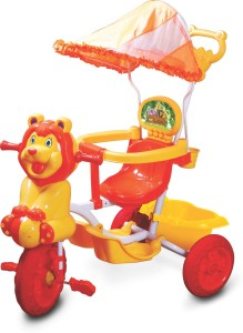 6957291d7dc Toyzone Baby Lion Tricycle Tricycle Yellow Orange Best Price in ...
