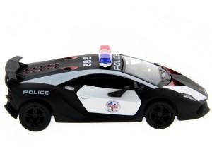 Kinsmart 5 Die Cast Metal Lamborghini Sesto Elemento Police Car Toys