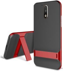new styles 51004 b2c41 Kapa Back Cover for MOTO G4 PLUS (Moto G Plus, 4th Gen)Red, Shock Proof