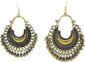 Muccasacra Hot Ing Fashion Golden Afghani Style Alloy Dangle Earring