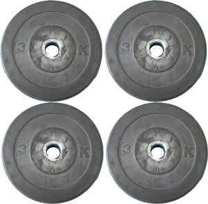 Royal 3Kg 4Pc Low Cost Weight Plates 27mm1 Weight Plate