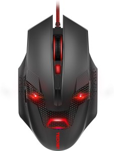 Tecknet M268 Raptor Black Wired Optical  Gaming Mouse