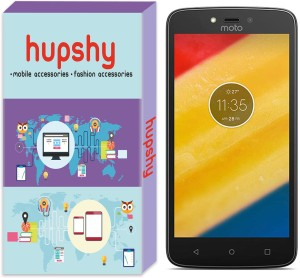 Hupshy Tempered Glass Guard for Motorola Moto C Plus