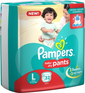 Pampers Pampers Pants Diapers Large - L