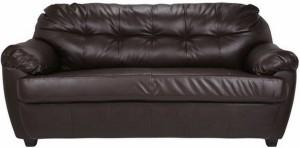 FabHomeDecor Rosabelle Comfy Leatherette 3 Seater Standard