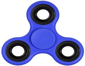 Gitz Hand Spinner, EDC Spinner Fidget Toys, tri-spinner fidget, and Ultra Speed - Hybrid Ceramic Bearing (Blue)