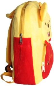 ToyJoy Pooh plush bag with three compartments 35 cm Yellow Best ... 6480919fcf