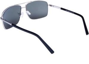 18ce16b7a3abb TOM MARTIN UV–400 Protected Sunglasses - Barstow 12 Aviator SunglassesBlack