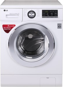 LG 6.5 kg Fully Automatic Front Load Washing Machine White