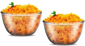 Treo New Gereration Glass Mixing Bowl Microwave safe Combo of 2 Glass Bowl Set