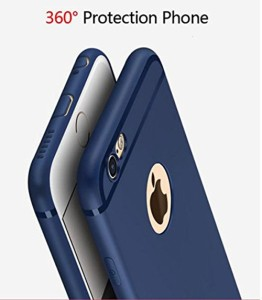 new arrivals 0413b fcd44 Loopee Back Cover for Apple iPhone 6S PlusBlue
