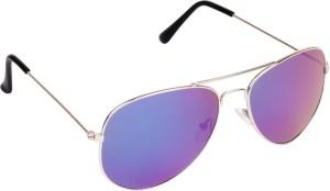 033e8c456e Criba Stylish Mercury UV400 Aviator Sunglasses Blue Best Price in ...