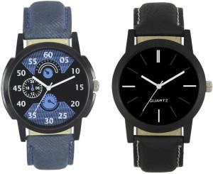 Shivam Retail New Fashion 002-005 Branded Leather Analog Watch  - For Boys