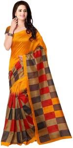da715f90f V J Fashion Self Design Bhagalpuri Art Silk Saree Multicolor Best ...
