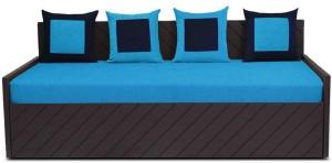 Auspicious Home Kaiden (4 Pillows) Double Fabric Sofa Bed