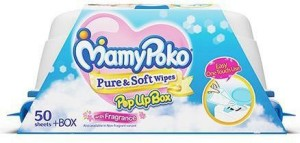 MamyPoko Pure and Soft Wipes Box
