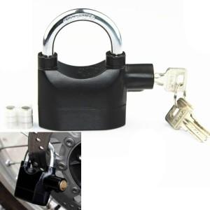 VibeX ™ Siren Alarm Shock Sensor Padlock Bicycle Lock