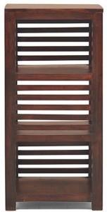 Ringabell Skylar Solid Wood Semi-Open Book Shelf