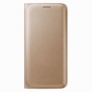 free shipping 63bf0 19291 S-Softline Flip Cover for SAMSUNG Galaxy J7 PrimeGold