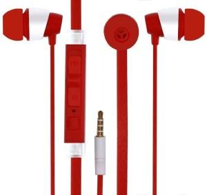 Rich Walker New_KFM_Red bluetooth Headphones