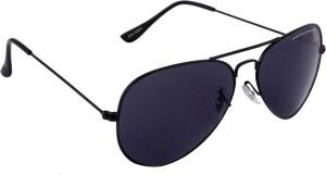 5e21ffc59928 Provogue PV1001 Blk Blk Aviator Sunglasses Black Best Price in India ...
